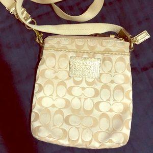 Coach crossbody messenger purse